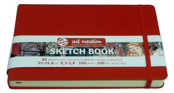 Sketch book Rojo 2017